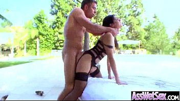 on fours all hair girl pony extreme pulling slave German outdoor cit