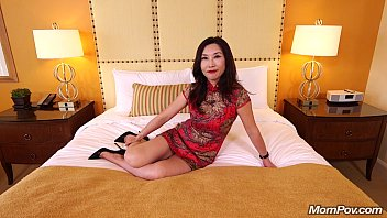 squirting asian mature 2015 Strap onfucks male