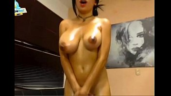 balls while busted cum Big tits mature estela