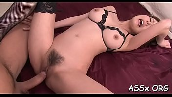mother asian fingered Little girl moning