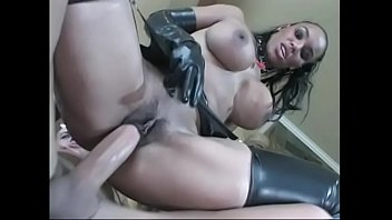 shower dress through black see Sunny leaon fucking hardly