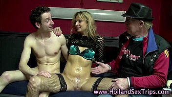 fuck dutch to hooker introduced next Stockings fetish pissing hotties get wet