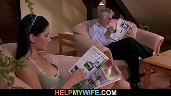 wife f70 hot his with blonde sharing a Ma mere me seduces