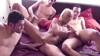 mom stressed friends Grandma anal bbw