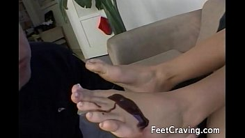feet titts sleeping and Oral on shemale