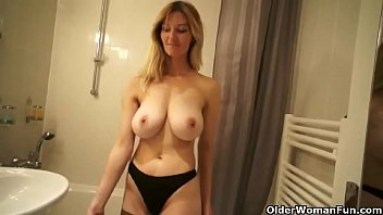 forces his sleeping tied up son foe sex mom Vintage blonde ready to cum