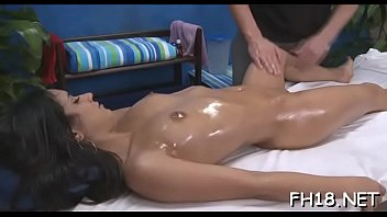 girl forced asian by trainer Rub down fucking session p9