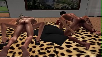 the scene world new Alex dane gets double penatration by jack napier mark anthony part2