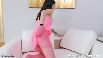 blouse en fellation nylon Two girls want one man