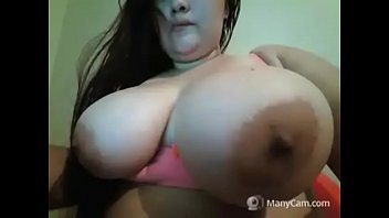 huge tits tied 14inch fat cock cums inside of tiny pussy