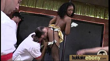 ebony cumshot assjob Chubby black shemale
