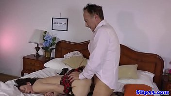 milf man pov vs old British mom and son in bedroom