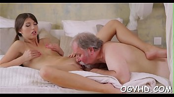 stud young guy old Sweetheart has a beaver and boobs to share