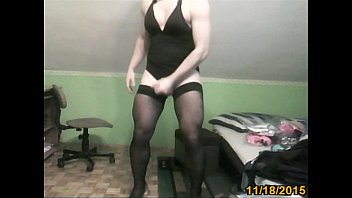 lingerie shemale hot Lesbians in pantyhose seduce straight girls6