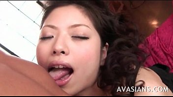 slow blowjob japan Friend dominate woman while husband watches