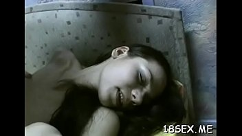 school with 1st her sex girls bf time And forced by robbers