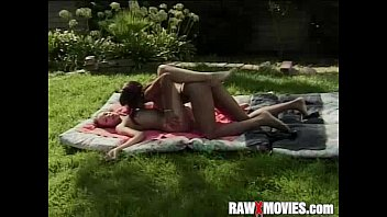 brutal outdoor lesbian whipping Desi couple caught having sex