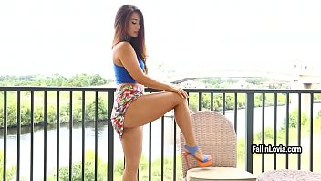 having lustful her muff time a with babe is Maitress casting dp