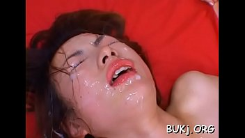 with cunt wife dildo a getting huge slammed Japanese shit creampie