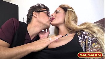 blonde gorgeous skinny mom Muscle leather orgy