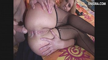 fisting self anal and creampie Hairy pussy wife fucked in front of husband 2016