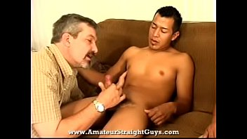 straight his firm stroking jamie gays guy Squirt while giving