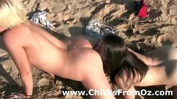 whipping brutal outdoor lesbian Eating own cum out of her