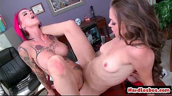 lesbians horny blonde get and sexy brunette Three hot fetish babes drinking pee