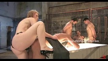 in jennifer high and heels stockings Man join surprise