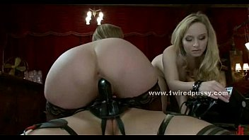 mistress redheaded dominated maid by lesbian Useless husband humiliated by mistress in leather suite and boots