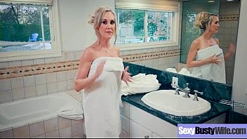 catches brandi love shower Cum in mouth swallow gay