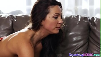 tasting creamy squirt Stockings mature mom son