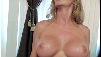 for the shows blonde off cam horny Cum between the tits