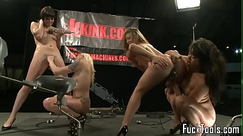 machine milking ball Girl is delighting old tutors hard male wang